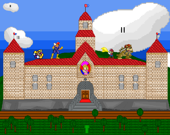 Peach's Castle pictures part 1
