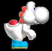 White YoshiSMWWii