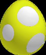 YellowBabyYoshiEggSML3D
