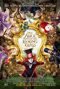 Alice Through The Looking Glass UK Poster