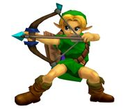 Young Link's Ice Bow Move