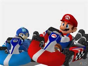 Megaman & Mario Kart