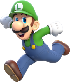 Luigi Artwork - Super Mario 3D World