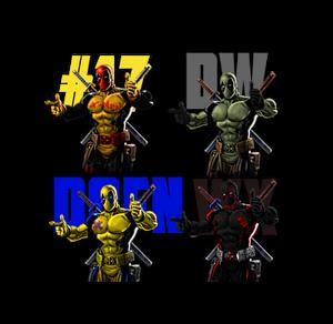 Deadpool palette