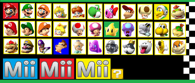 File:Mario Kart Speed Lane,Select a Character Screen.png