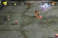 Battle Dome Mario Strikers Charged Football