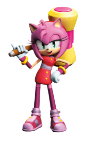 Amy Sonic boom