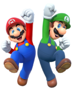 Mario and luigi 2015 render by banjo2015-d8wqk9h