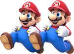 Double Mario Artwork - Super Mario 3D World