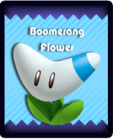 Super Mario & the Ludu Tree - Powerup Boomerang Flower