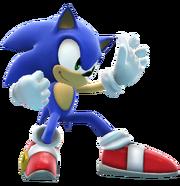 Sonic battle pose by banjo2015-d8rqmai