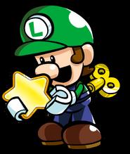 Mini Luigi Tipping Stars