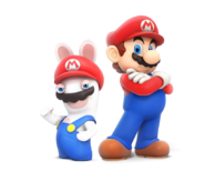 Rabbid n Mario - RabbidsKingdomBattle
