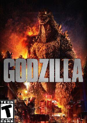 Godzilla video game cover