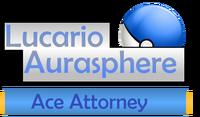 Lucario Aurasphere Logo