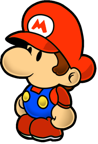 File:Paper Baby Mario.png