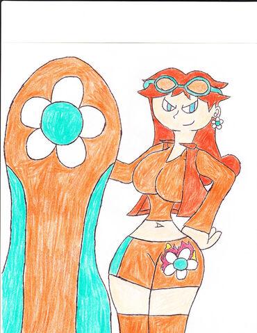 File:Daisy and Sonic Riders by pokemonmasterish.jpg