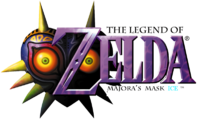Logo The Legend of Zelda Majora's Mask