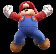 Mario One Piece pose