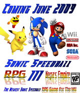 Sonic Speedball RPG III Poster