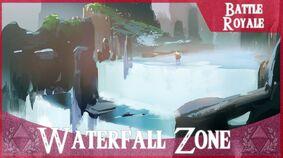 Waterfall zone