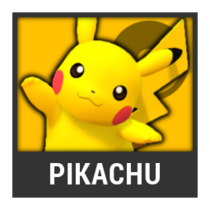 ACL -- Super Smash Bros. Switch character box - Pikachu