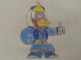 Andre, the Sonic Striker