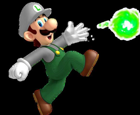 File:Fire Luigi NSMBOD.png