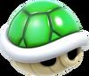 Green Shell Artwork - Super Mario 3D World