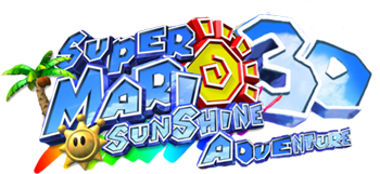 File:Super Mario Sunshine 3D Adventure logo..png