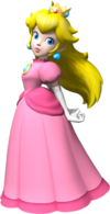 Princess Peach Hair Flip