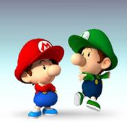 Baby Mario Bros Artwork