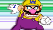 Wario fighting Spoiled Rotten