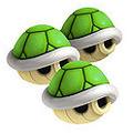 Triple Green Shell - Mario Kart 8 Wii U