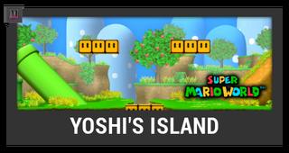 ACL -- Super Smash Bros. Switch stage box - Yoshi's Island