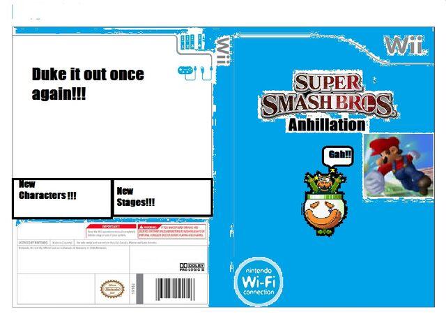 File:Super Smash Bros Annilation Boxart.jpg