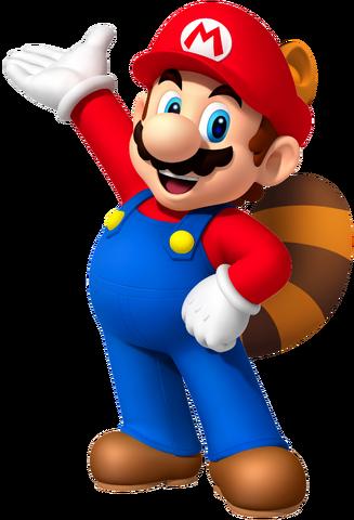File:Raccoon Mario.png