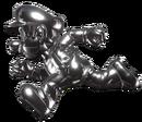 Metal Mario runing (SBBWIU)