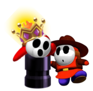King guy and sherrif guy