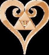Kingdom hearts logo heart by thecrownedroxas