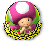File:MK3DS Toadette icon.png