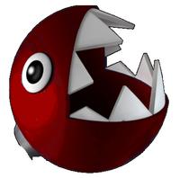 Red Chomp Head