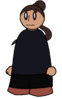 Hairstyle Long Ponytail Generic