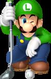 Luigi Artwork - Mario Golf World Tour
