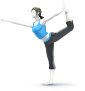 450px-SSB4 - Wii Fit Trainer Artwork