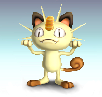 File:Meowth SSBG.png