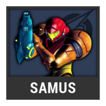 ACL -- Super Smash Bros. Switch character box - Samus