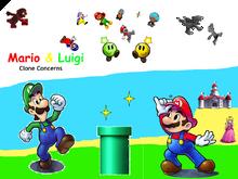 Mario & Luigi- Clone Concern
