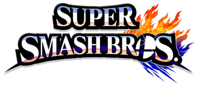 Super Smash Bros 4 merged logo, no subtitle