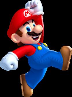 Mario Jump NSMBU